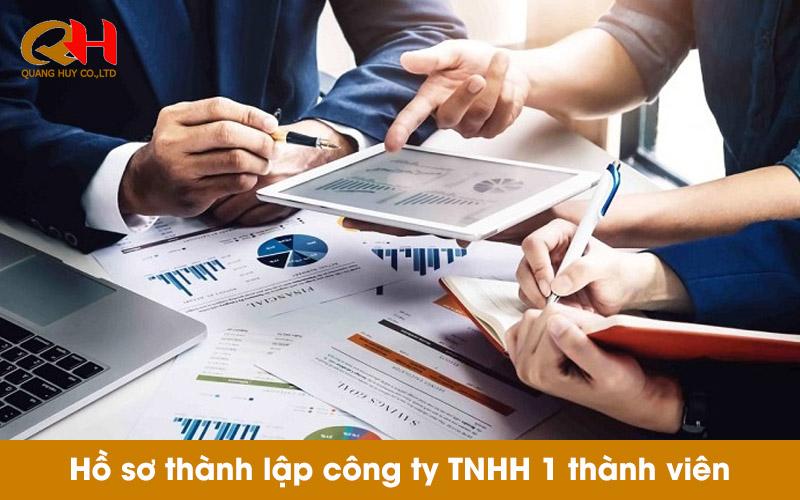Hồ sơ thành lập công ty TNHH một thành viên gồm những gì?