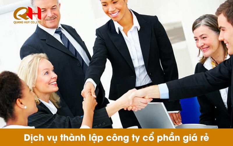 Dịch vụ thành lập công ty giá rẻ chuyên nghiệp