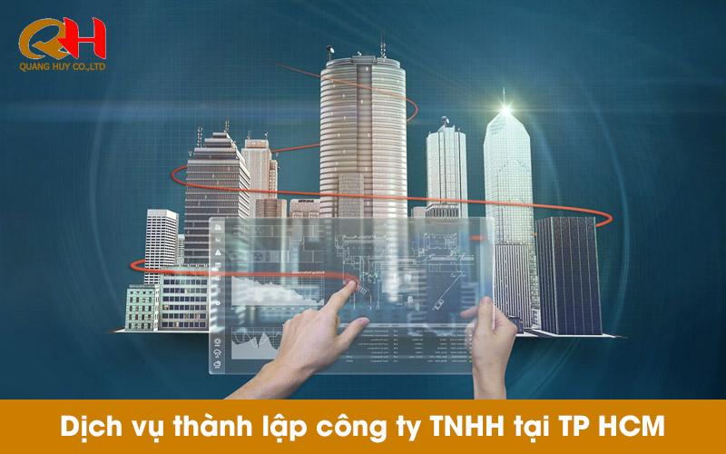 Dịch vụ thành lập công ty trọn gói giá rẻ tại TP HCM